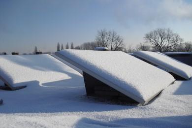 Sneeuw zuigen