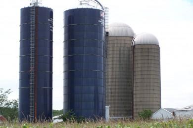 Leegmaken van silo's